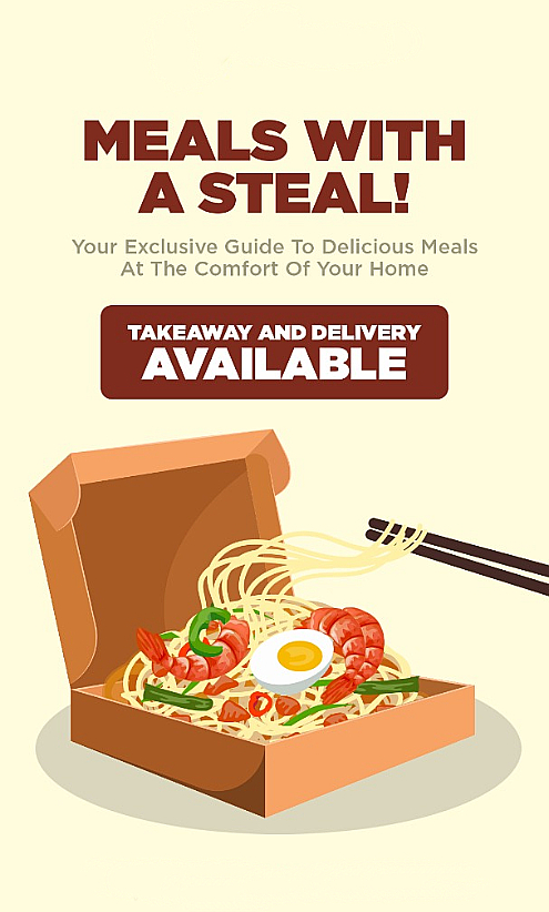 F&B Takeaway & Delivery Available